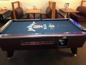 Pool Tables from Pride Vending