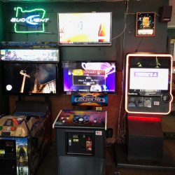 Arcade Games at a Bar